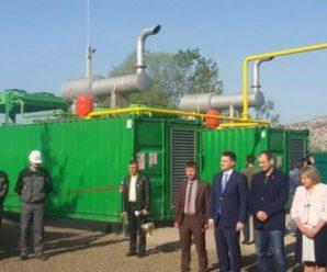 На Прикарпатті відкрили біогазову станцію з переробки сміття